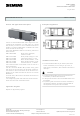 Siemens AP 118 Technical Product Information