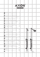 Hansgrohe Axor Starck Series Instructions For Use/assembly Instructions