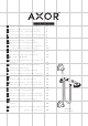 Hansgrohe Axor Carlton Instructions For Use/assembly Instructions