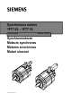 Siemens 1FT7 Series Instructions Manual