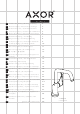 Hansgrohe Axor Citterio 39850 Series Instructions For Use/assembly Instructions