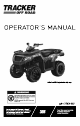 Tracker Off-Road 300 Operator's Manual