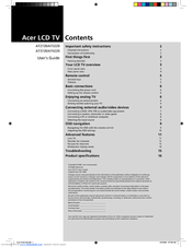Acer AT2720 User Manual