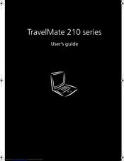 Acer TravelMate 210 series User Manual