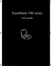 Acer TravelMate 740 Series User Manual