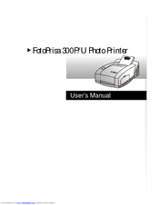 Acer FotoPrisa 300P User Manual