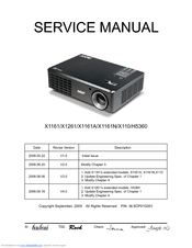Acer H5360 Series Service Manual