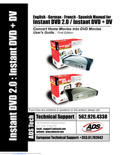 ADS TECH INSTANT DVD DRIVERS DOWNLOAD (2019)