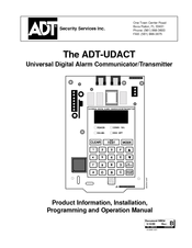 ADT ADT-UDACT Product Information