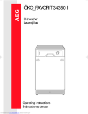 aeg oko favorit 34350 i operating instructions manual pdf download rh manualslib com aeg oko favorit 675 dishwasher manual