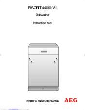 Aeg Favorit 44060 Vil Manuals