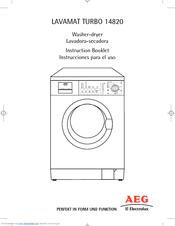 Aeg l85275xfl freestanding washing machine – user manual | user.