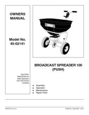 agri fab 45 02141 manuals rh manualslib com Agri-Fab Broadcast Spreader agri fab broadcast spreader 100 manual