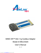 AIRLINK101 AWLC5025 DRIVERS FOR WINDOWS XP