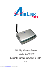 AIRLINK101 AR325W 64 BIT DRIVER
