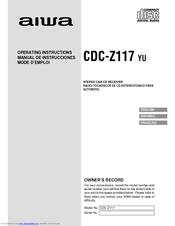 Aiwa CDC-Z117 Manuals on