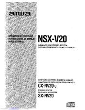aiwa nsx v20 manuals rh manualslib com Aiwa Nsx- A202 Aiwa Nsx- D70