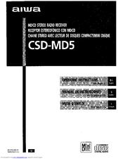 aiwa csd md5 manuals rh manualslib com aiwa csd-el 30 user manual Aiwa Model