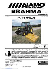 ALAMO INDUSTRIAL BRAHMA 02968822P PARTS MANUAL Pdf Download