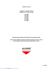allegro industries 9821 manuals rh manualslib com allegro 16.6 user manual allegro mx user manual