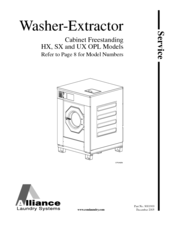 unimac washer wiring diagram alliance laundry systems hx service manual pdf download  alliance laundry systems hx service