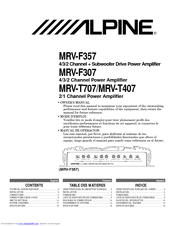 4536_mrvf307_product alpine mrv t707 manuals 30 Amp RV Wiring Diagram at bayanpartner.co
