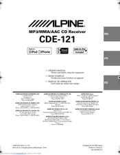 [DIAGRAM_1JK]  Alpine CDE-121 Manuals | ManualsLib | Alpine Cde 121 Wire Diagram |  | ManualsLib