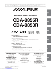 4563_cda9853r_product alpine cda 9855r manuals alpine cda-9853 wiring diagram at crackthecode.co