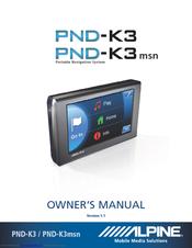 alpine pnd k3 msn owner s manual pdf download rh manualslib com