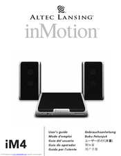 altec lansing inmotion im4 manuals rh manualslib com altec lansing inmotion im3c manual