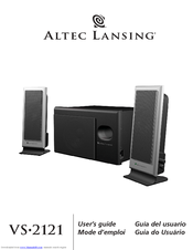 altec lansing vs2121 manuals rh manualslib com Altec Lansing Replacement Remote Altec Lansing VS4221 Cords
