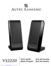 altec lansing vs2220 manuals rh manualslib com Altec Lansing InMotion Manual Altec Lansing 251 Speakers Manual