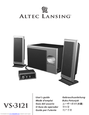 altec lansing vs 3121 manuals rh manualslib com Altec Lansing Bluetooth Speaker Manual Altec Lansing Atp3 Manual