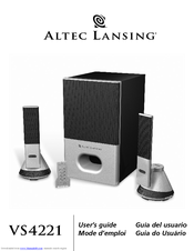 Altec Lansing VS4221 Manuals