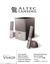 altec lansing vs 4121 manuals rh manualslib com Altec Lansing VS4221 Not Working Altec Lansing VS4121