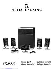 Altec Lansing FX5051 Manuals