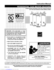 ao smith promax powervent gpvx50 instruction manual 32 pages residential gas water heater