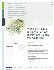 aastra meridian m5316 manuals rh manualslib com aastra phones m5316 manual aastra phones m5316 manual