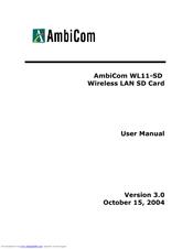 AmbiCom WL1100B Windows 8 Driver
