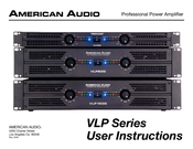 American Audio VLP1500 User Instructions