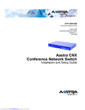 Aastra ATP-CNX-020 Installation And Setup Manual