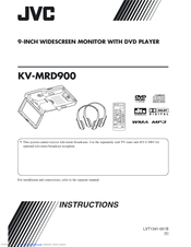 JVC MRD900 - KV - DVD Player Instructions Manual