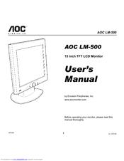AOC LM-510 DRIVERS DOWNLOAD (2019)