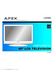 apex digital ld4088 manuals rh manualslib com Apex 40 Inch TV Apex TV Remote