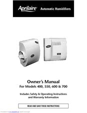aprilaire 550 manuals rh manualslib com Aprilaire Humidifier Model 550 Solenoid Valve for Aprilaire 550