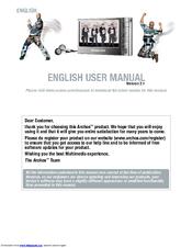 Archos 504 manual.
