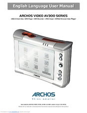 ARCHOS AV 300 DRIVERS MAC