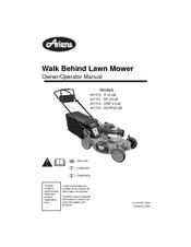 Ariens lawn mower user manuals