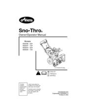 ariens 932036 524 manuals rh manualslib com Ariens 724 Snowblower Manual Ariens 724 Snowblower Manual