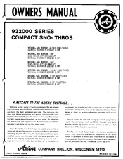 ariens lawn mower manual pdf